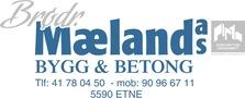 Brødrene Mæland Bygg & Betong AS