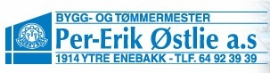 Bygg og Tømmermester Per-Erik Østlie AS